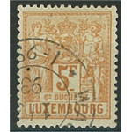 Luxemburg 56B stämplat