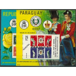 Paraguay block 325-326 **