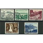 Schweiz 597-601 stämplade
