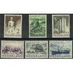 Nederländerna 552-557 *