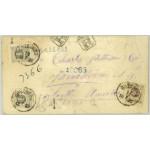 Sverige 38 öre rek till USA 1885