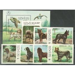 Laos 944-950 + block 113 **