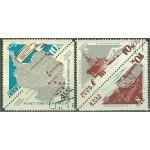 Sovjet 3181-3183 stämplade