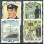 Christmas Island 258-261 **