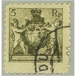 Liechtenstein 48A stämplat