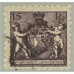 Liechtenstein 52A stämplat