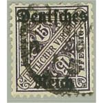 Tyska Riket D59 stämplat
