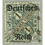 Tyska Riket D64 stämplat