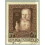 Österrike 884 stämplat