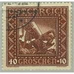 Österrike 493 I stämplat