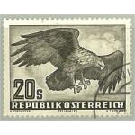 Österrike 968 stämplat