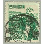 Japan 416 stämplat
