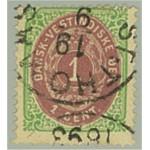 Danska Västindien 5h stämplat
