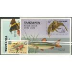 Tanzania 637 + block 107-108 **