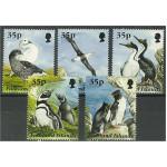 Falkland Islands 653-656 + 658 **