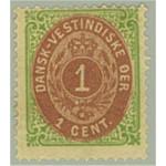 Danska Västindien 5i *