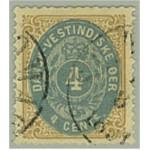 Danska Västindien 7a stämplat