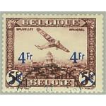 Belgien 400 stämplat