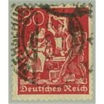 Tyska Riket 166 stämplat