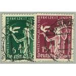 Tyska Riket 622-623 stämplade