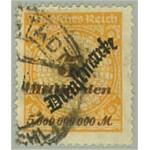 Tyska Riket D85 stämplat