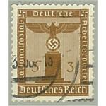 Tyska Riket D145 stämplat