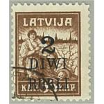 Lettland 59 stämplat