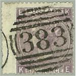 Storbritannien 25 pl 5 stämplat (ktt)
