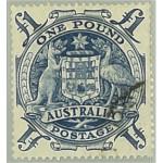 Australien 189 stämplat