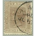 Nya Zeeland 58A stämplat
