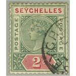 Seychellerna SG1 stämplat