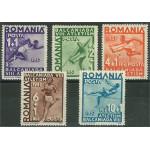 Rumänien 538-542 ** (541 *)