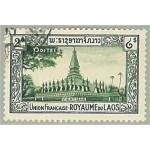 Laos 9 stämplat
