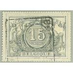 Belgien E8 vm stämplat