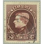 Belgien 264 II stämplad