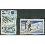 Franska Andorra 195-196 **