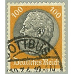Tyska Riket 495 stämplat