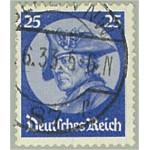 Tyska Riket 481 stämplat