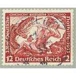 Tyska Riket 504A stämplat