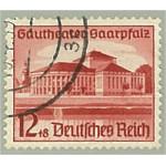 Tyska Riket 674 stämplat
