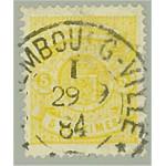Luxemburg 39A stämplat