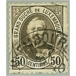 Luxemburg 63D stämplat
