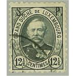 Luxemburg D48 stämplat