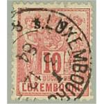 Luxemburg D39 stämplat