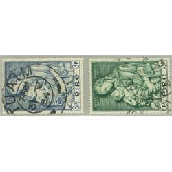 Irland 120-121 stämplade