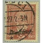 Tyska Riket D112 stämplat