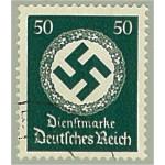 Tyska Riket D177 orderstämplat