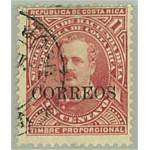 Costa Rica 17 stämplat