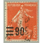 Frankrike 209 stämplat