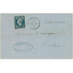 Frankrike 13 II på inrikesbrev
